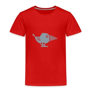 Silver Drillbot - Pick your shirt color! - Toddler Premium T-Shirt