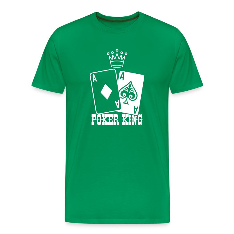 Poker - Poker King T-Shirts - Men's Premium T-Shirt