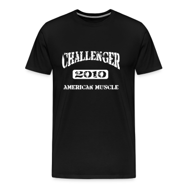 2010 Dodge Challenger Distressed Design Tshirt