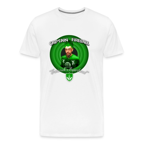 Captain Fireball St. Patrick's Day Edition - Men's Premium T-Shirt