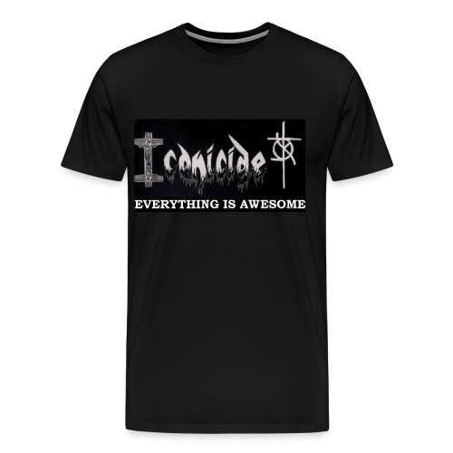 ICONICIDE EVERYTHING IS AWESOME SHIRT - Men's Premium T-Shirt