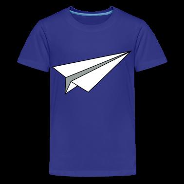 Paper Plane Kids' Shirts
