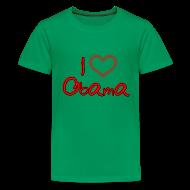 Kids' Shirts ~ Kids' Premium T-Shirt ~ I Heart OBAMA Kids Shirt