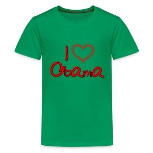 I Heart OBAMA Kids Shirt - Kids' Premium T-Shirt