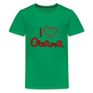 I Heart OBAMA Kids Shirt - Kids' Premium T-Shirt