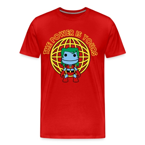 Little Captain Big Planet - Men's Premium T-Shirt