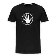 T-Shirts ~ Men's Premium T-Shirt ~ Ripped Hand - No Words
