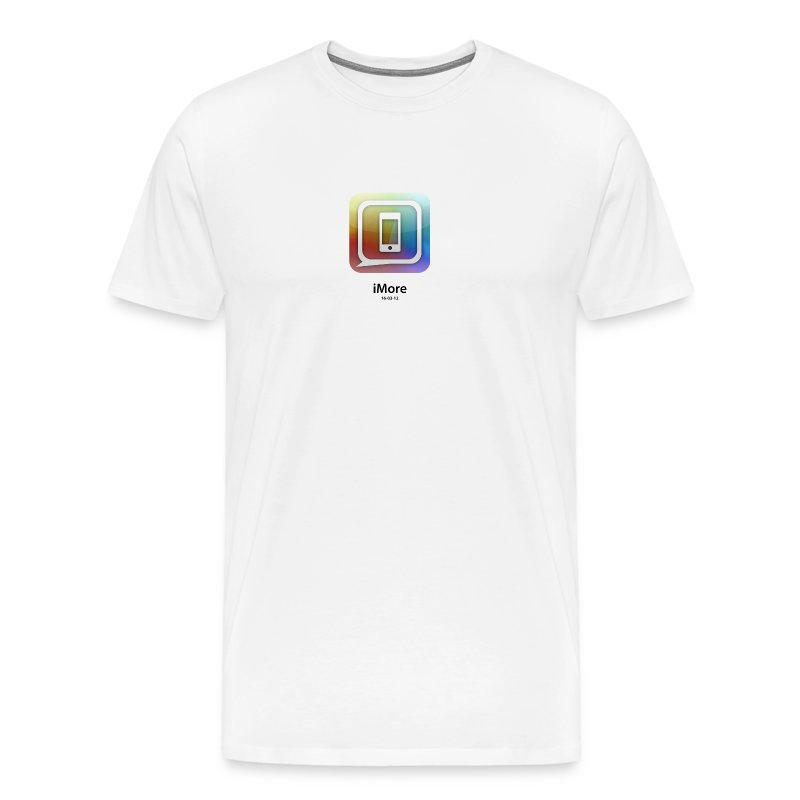 Apple-colored new iPad launch special edition iMore shirt - Men's Premium T-Shirt