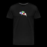 T-Shirts ~ Men's Premium T-Shirt ~ 4D Glasses Mini-Logo