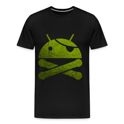 Android and Bones - Men's Premium T-Shirt