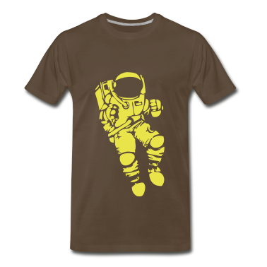 Astronaut Vector Design T-Shirts
