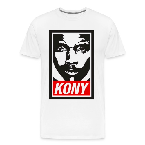 cony face shirt  - Men's Premium T-Shirt