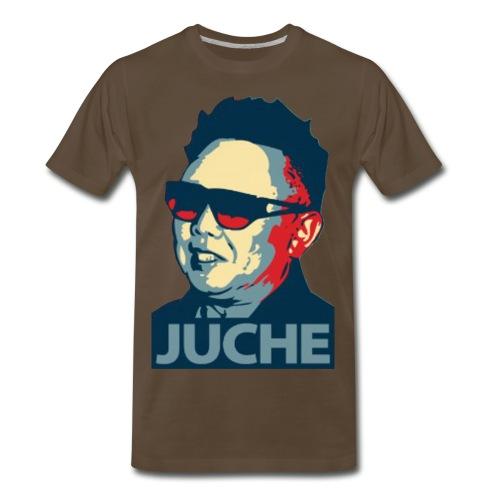 Juche Mane - Men's Premium T-Shirt