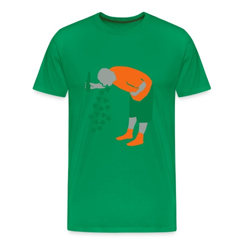 Drunk on St Patty's day (Men's) - Men's Premium T-Shirt