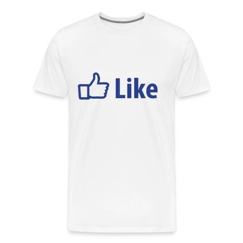 Facebook Like - Men's Premium T-Shirt