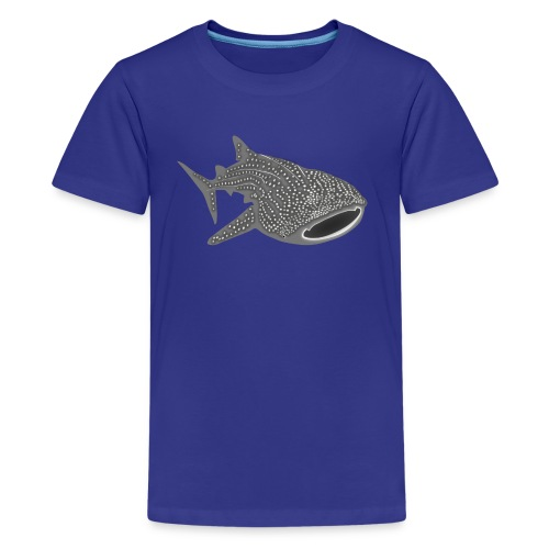 animal t-shirt whale shark fish dive diver diving endangered species - Kids' Premium T-Shirt
