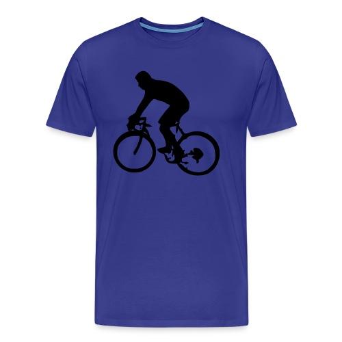 Cycling Men's Heavyweight T-Shirt - Men's Premium T-Shirt