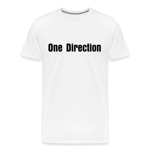 One Direction - Plain - Men's Premium T-Shirt