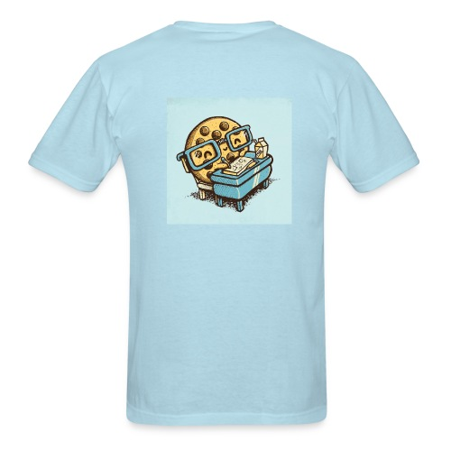 One Smart Cookie On Back - Men's T-Shirt