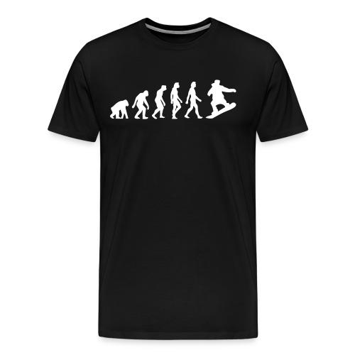 Shred Evolution Mens Tee - Men's Premium T-Shirt