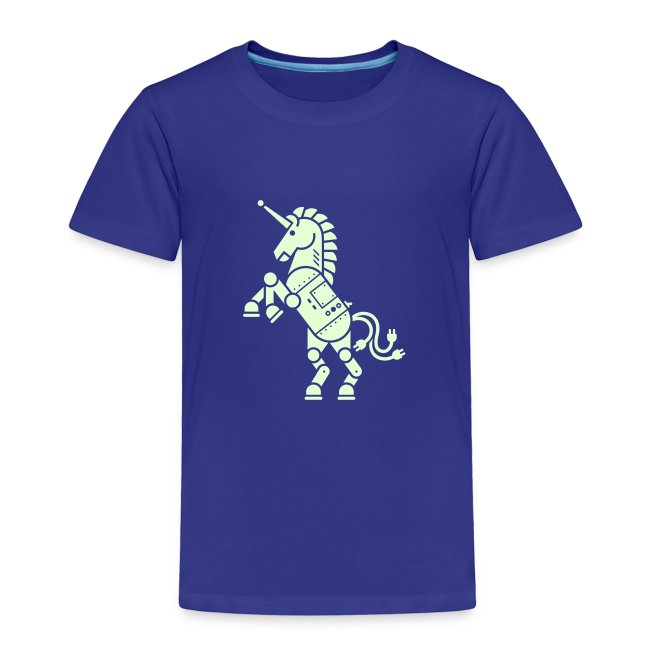 Robicorn Glow in the Dark - Pick a shirt color!