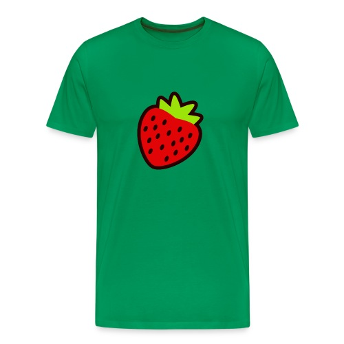 Strawberry Heavy - Men's Premium T-Shirt