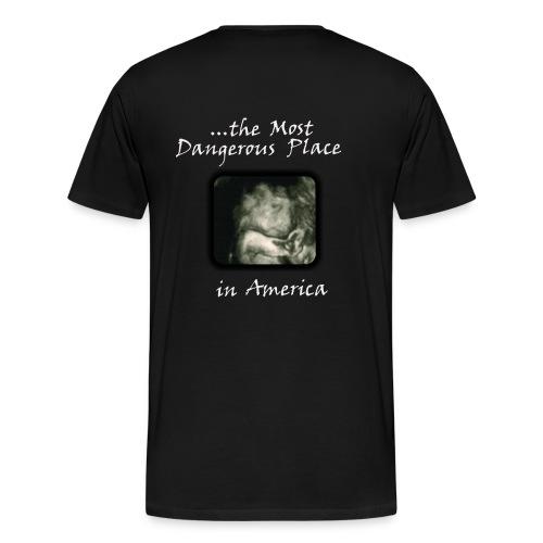 Men's Heavyweight T-Shirt - I Survived... - Black/White - Men's Premium T-Shirt