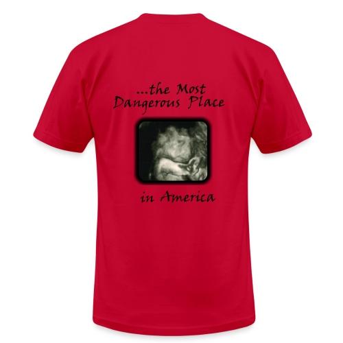 Men's Heavyweight T-Shirt - I Survived... - Pink/Black - Men's  Jersey T-Shirt