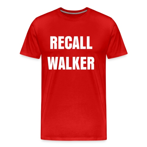 Recall Walker Men's T - Men's Premium T-Shirt
