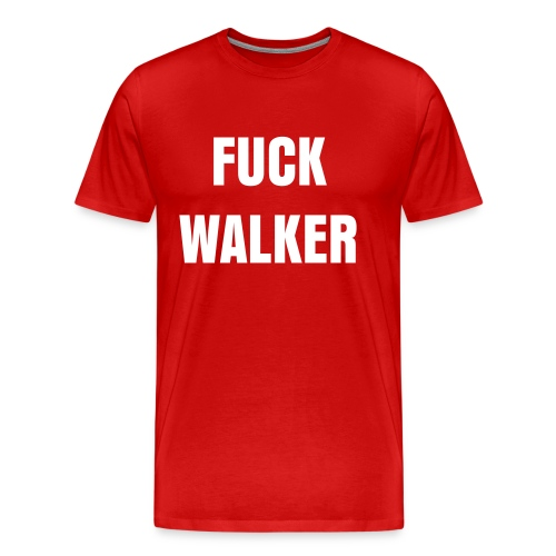 Fuck Walker Men's T - Men's Premium T-Shirt