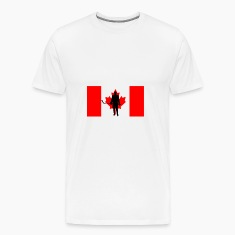 Canada flag hockey player 2