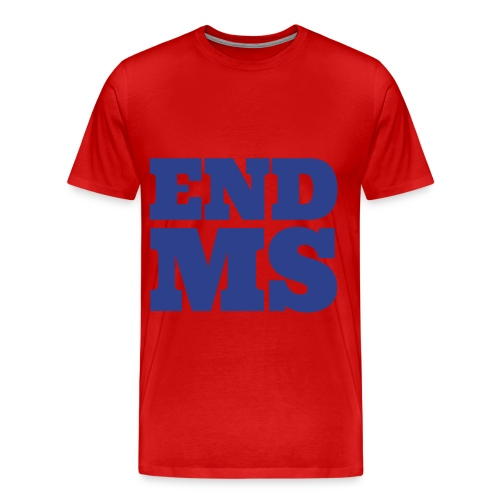 MS walk 2012 - Men's Premium T-Shirt