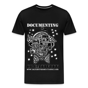 DocumentingCreativity B&W - Men's Premium T-Shirt