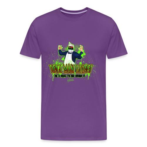 DELI MAN - Men's Heavyweight T-Shirt - Men's Premium T-Shirt