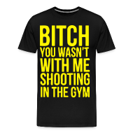 T-Shirts ~ Men's Premium T-Shirt ~ Shooting with me