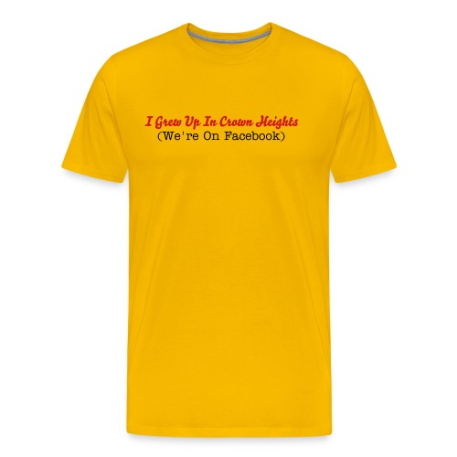 Yellow IGUICH - Men's Premium T-Shirt