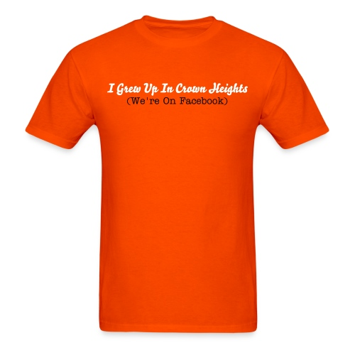 Orange IGUICH - Men's T-Shirt
