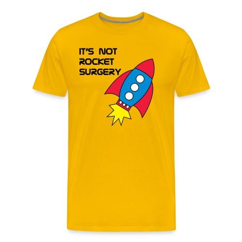 It's Not Rocket Surgery - Men's Premium T-Shirt