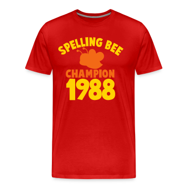 spelling bee champion 1988 super cute college shirt T-Shirts