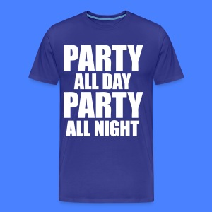 Party All Day Party All Night T-Shirts - stayflyclothing.com - Men's Premium T-Shirt