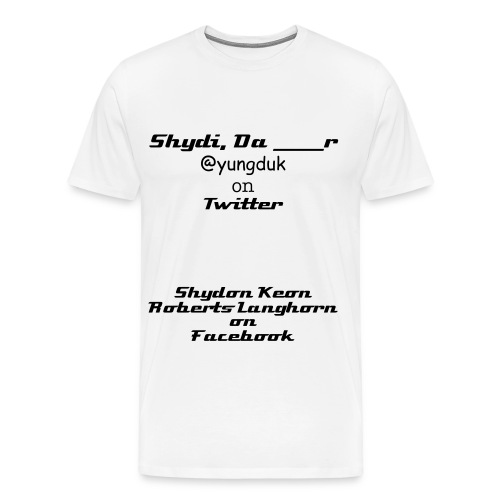 Men's Premium T-Shirt - All Rights Reserved. Copyrighted 2012. ShydiOfficials, LLC