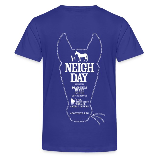 Kids Neigh Day T-shirt