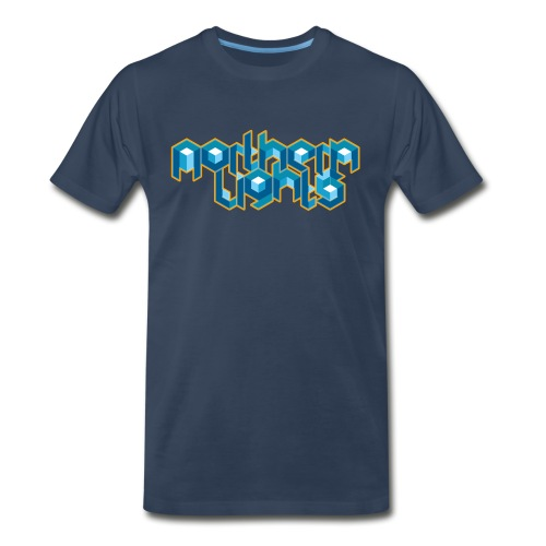 Northern Lights (M) - Men's Premium T-Shirt
