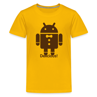 Droid Gingerbread Kids' Shirts