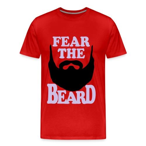 Fear the beard Men's  - Men's Premium T-Shirt
