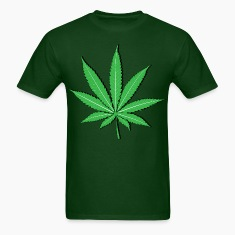 Pot Leaf HD Design T-Shirts