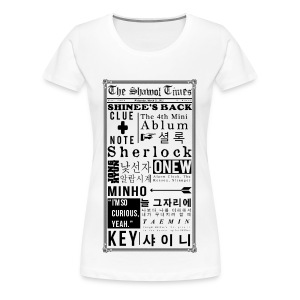 Shinee- Sherlock Ladies Plus Tee - Women's Premium T-Shirt