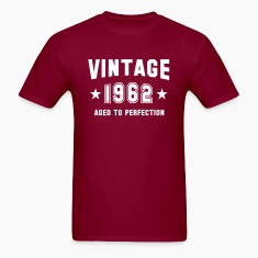 VINTAGE 1962 - Birthday T-Shirt HN