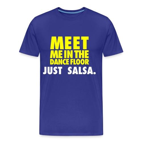 MEET ME JUST 3 - Men's Premium T-Shirt
