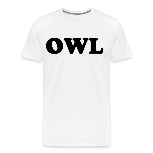 OWL Tee  - Men's Premium T-Shirt